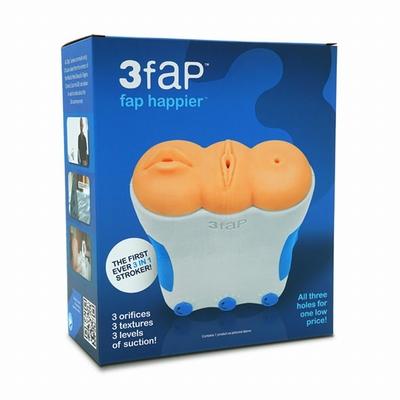 3FAP masturbator met 3 verschillende loveholes