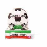 World Kick mini vibrerende voetbal, groen