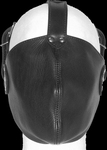 Gesloten Gezichts Masker. Materiaal : Leder, One size fits -