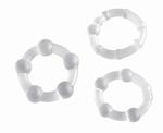 Cockrings set - Pro Rings, transparant