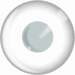 Funlenzen, HypnotEyes contactlenzen, Block White