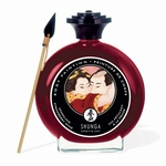 Shunga Bodypaint Strawberry Wine, 100 ml