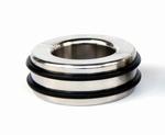 Ballstretcher met rubber snelsluit banden 25 mm hoog