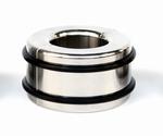 Ballstretcher met rubber snelsluit banden 35 mm hoog