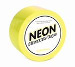 Neon Bondagetape, geel