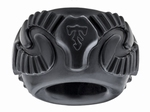 Perfect Fit Ram Ring, cockring, 2 stuks in doos, zwart